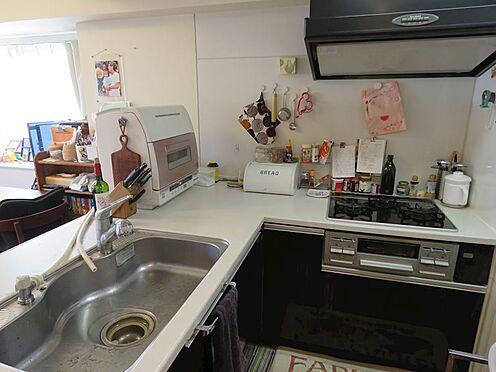 中古マンション-八王子市上柚木2丁目 L字型のオープンカウンターキッチン