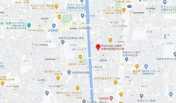 建物全部その他-大阪市生野区中川西2丁目 間取り