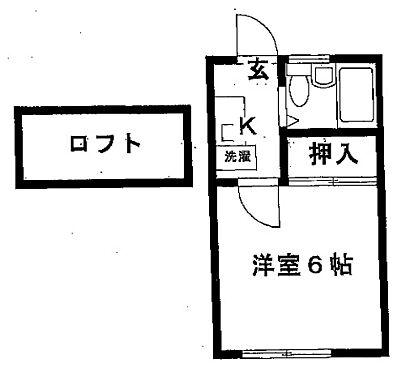 アパート-神戸市北区山田町下谷上字猪ころび 間取り