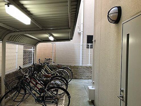 マンション(建物一部)-大阪市城東区東中浜6丁目 駐輪場があるから駅へのアクセスが便利に。