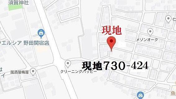 土地-野田市木間ケ瀬 地図