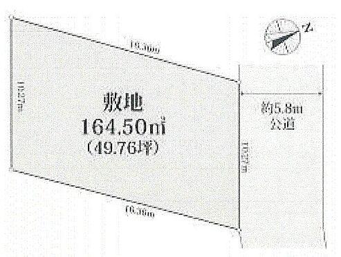 アパート-板橋区熊野町 区画図