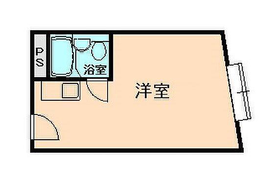 マンション(建物一部)-大阪市福島区福島2丁目 シンプルな単身者向けの間取り