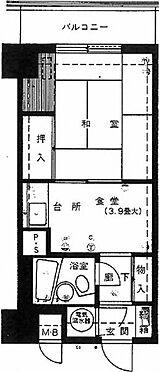 マンション(建物一部)-新潟市中央区万代1丁目 間取り
