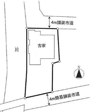 土地-入間市高倉3丁目 区画図