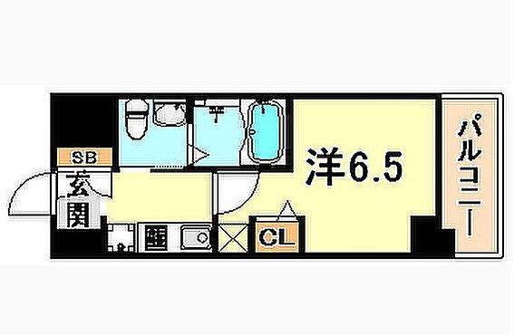 マンション(建物一部)-神戸市兵庫区大開通3丁目 間取り