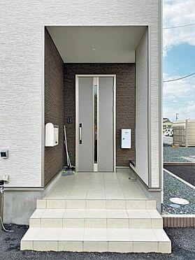 新築一戸建て-奥州市水沢字堀ノ内 玄関