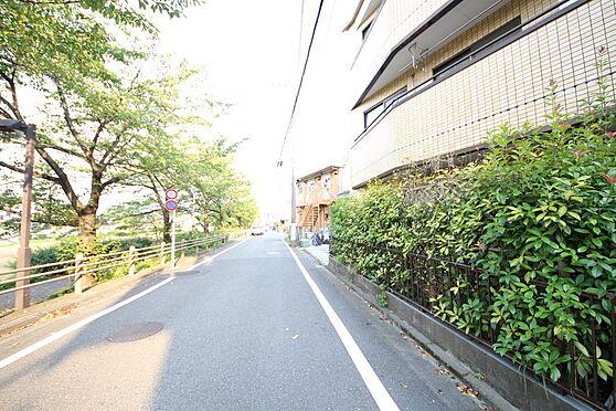 マンション(建物全部)-八王子市松木 前面道路