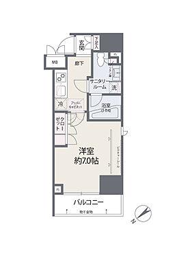 中古マンション-台東区蔵前1丁目 間取り図