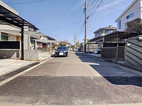 中古一戸建て-名古屋市緑区鏡田 車の通りも少なく小さいお子様がいても安心です!