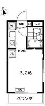 マンション(建物一部)-大田区蒲田1丁目 間取り