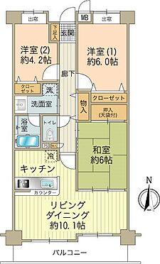 区分マンション-八王子市越野 南向きの明るいお部屋です。