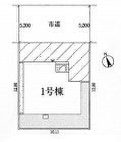 新築一戸建て-加須市南町 区画図