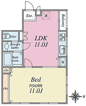 マンション(建物一部)-目黒区目黒本町4丁目 3階部分の角部屋2面採光、135,000円(月額)で賃貸中です!