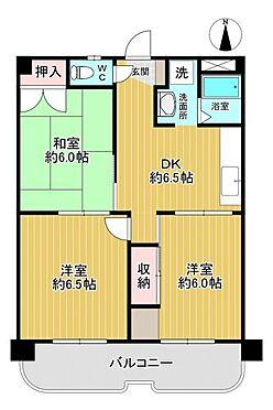 中古マンション-名古屋市昭和区山花町 日当たり良好な間取り