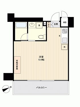 マンション(建物一部)-神戸市兵庫区会下山町2丁目 間取り