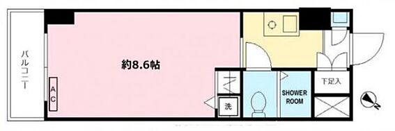 マンション(建物一部)-横浜市港南区上大岡西1丁目 間取り