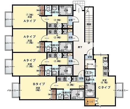 アパート-清瀬市野塩1丁目 間取り1階