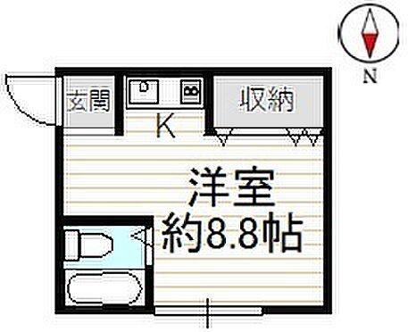 アパート-京都市北区小山堀池町 間取り