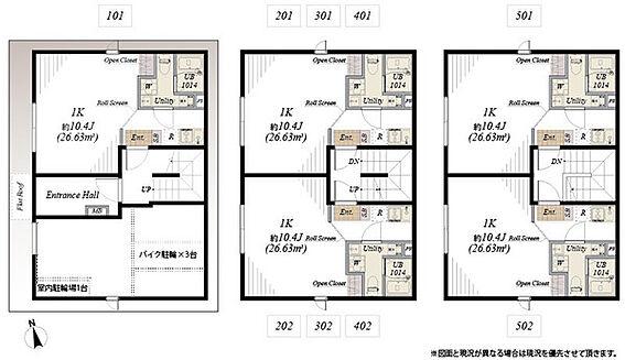 マンション(建物全部)-台東区北上野2丁目 間取り図