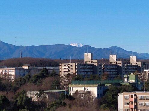 中古マンション-八王子市別所1丁目 バルコニーから望む富士山。