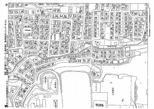 土地-大分市大字葛木 地図
