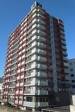 マンション(建物一部)-大阪市浪速区幸町3丁目 赤いラインが特徴的な外観