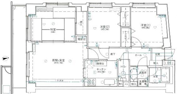 マンション(建物一部)-横浜市中区日ノ出町1丁目 間取り