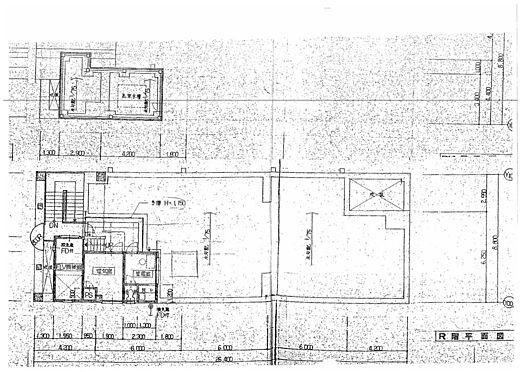 ビル(建物全部)-名古屋市中区新栄1丁目 屋上平面図