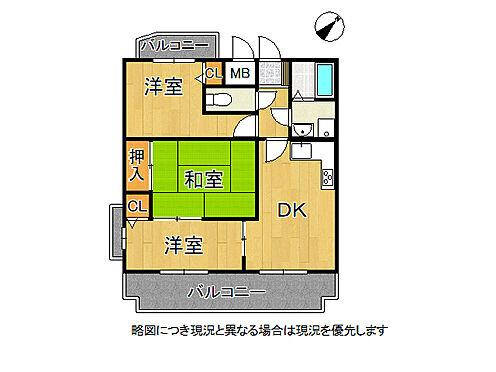 マンション(建物一部)-神戸市須磨区車字竹ノ下 間取り