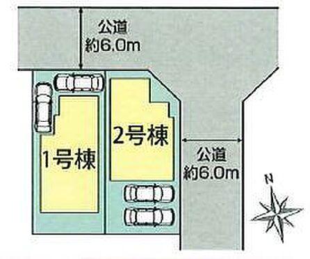 新築一戸建て-豊田市朝日町1丁目 並列2台駐車可!