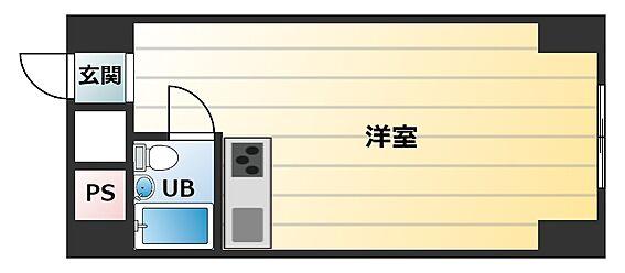 マンション(建物一部)-大阪市淀川区西宮原2丁目 シンプルなワンルール