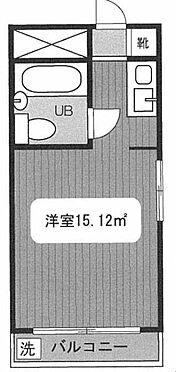 中古マンション-渋谷区笹塚2丁目 間取り