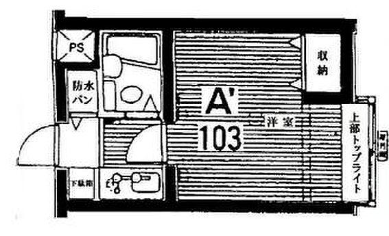 マンション(建物一部)-板橋区三園1丁目 間取り