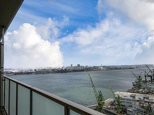 区分マンション-神戸市中央区東川崎町1丁目 バルコニーからの眺望(南東方向)