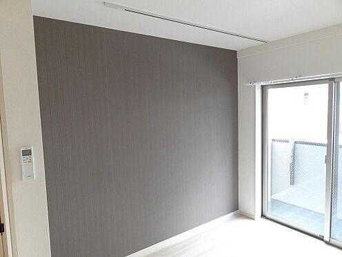 アパート-足立区伊興3丁目 アクセントクロス(施工例)