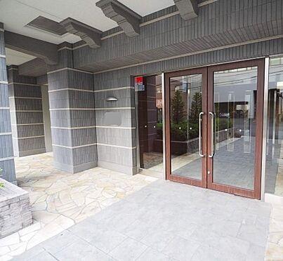マンション(建物一部)-大阪市東成区中道1丁目 シックでオシャレなエントランス