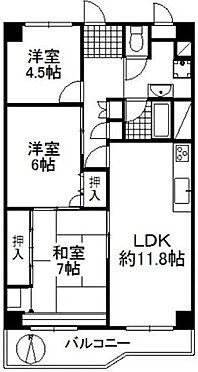 中古マンション-豊中市南桜塚1丁目 間取り