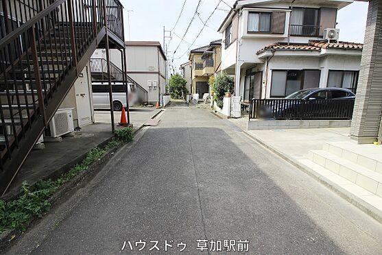 店舗・事務所・その他-川越市宮元町 前面道路です!