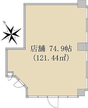 店舗事務所(建物一部)-狭山市入間川2丁目 間取り