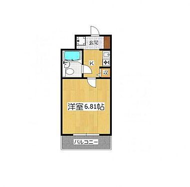 マンション(建物一部)-京都市東山区毘沙門町 間取り