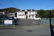 外観・2DK×4戸のアパートおよび月極駐車場15台可