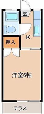 アパート-宮崎市吉村町別府原 間取り