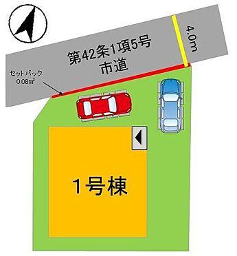 戸建賃貸-福岡市南区鶴田2丁目 駐車2台分のスペースがあります!