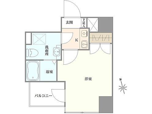 マンション(建物一部)-中央区新川1丁目 間取り