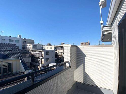 戸建賃貸-名古屋市東区百人町 日当たり良好なバルコニー