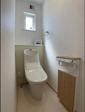 新築一戸建て-仙台市若林区六丁の目中町 トイレ
