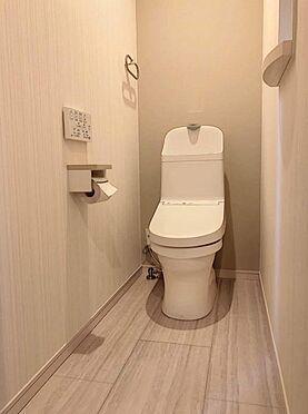 戸建賃貸-北名古屋市西之保立石 1階トイレです。