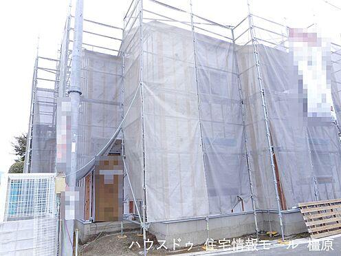 戸建賃貸-磯城郡田原本町大字阪手 現在建築工事中。大切な構造部分もしっかりご確認頂けます。モデルルームへのご案内も可能です。