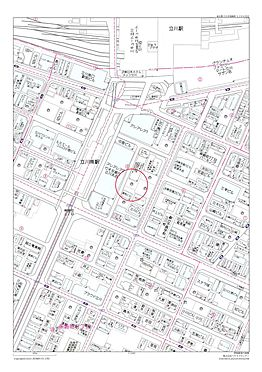 店舗事務所(建物全部)-立川市柴崎町3丁目 住宅地図